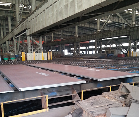 S500Q high strength steel plate