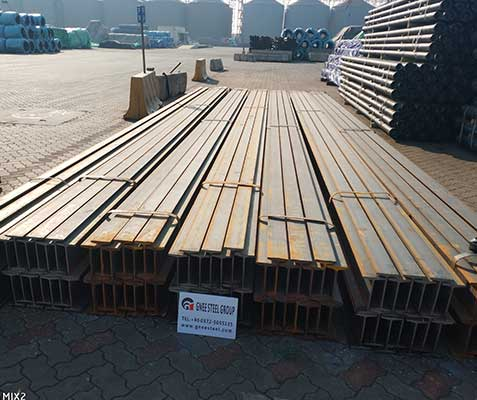ASTM A572 High Strength Steel I Beam