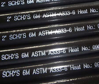 A333 Gr.6 seamless steel pipe